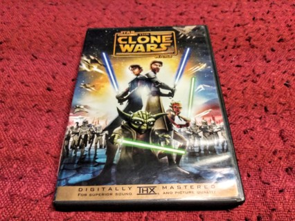 Star Wars The Clone Wars - DVD - Animated - Rated PG