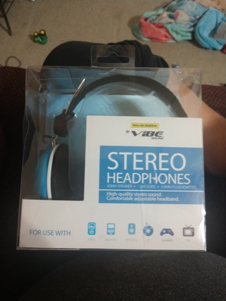 Stereo Headphones (New)