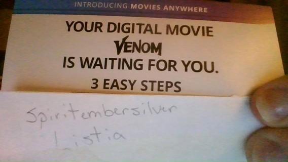 Venom Digital Code