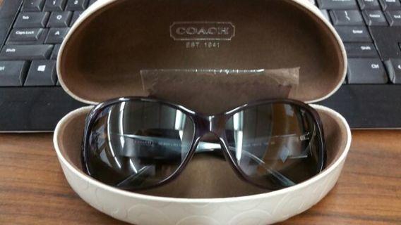 ae4d3aa35364 Free: EUC AUTHENTIC COACH #HC 8028 (L903 Taryn) Purple Sunglasses ...
