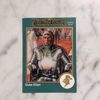 Duke Eltan Forgotten Realms Trading Cards