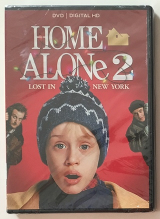 Home Alone 2 Lost In New York DVD / Digital HD Movie - Brand New Factory Sealed!!