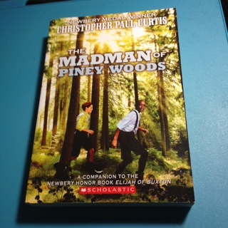 Brand New Paperback 2016's The Madman Of Piney Woods by Chris Curtis. 380+ Pgs. For 8-12 y.o.s
