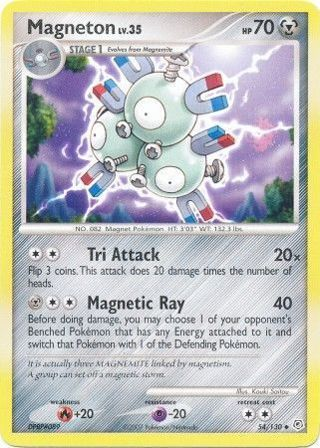 Magneton 54/130 Diamond & Pearl Edition (Base Set) Single