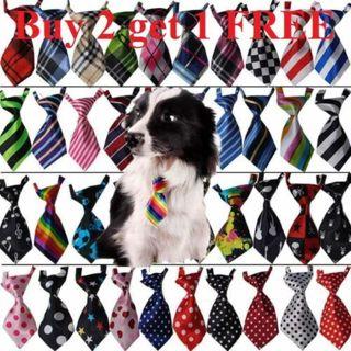 Teddy Adjustable Bow Tie Necktie Collar Lovely Dog Cat Puppy Pet Kitty Accessory