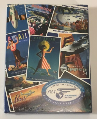 PAN AM 20 Vintage Postcard Collection - PAA Linking The Americas 1930's - 2006 - Brand New Sealed