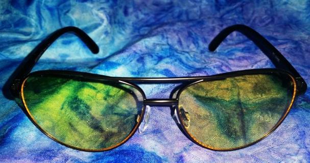 Anti-Glare Nighttime Driving Glasses Aviator Style - US Seller, NOT Dropshipper