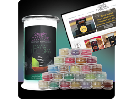 Free Jewelry In Candles Scent Jar Samples