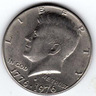 Bicentennial 1776 1976 Kennedy D Mint