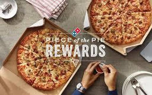 "10 Domino's ""Piece of the Pie"" Rewards Points C"