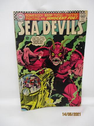 SEA DEVILS NO.31