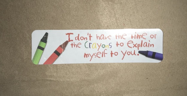 Funny Bookmark