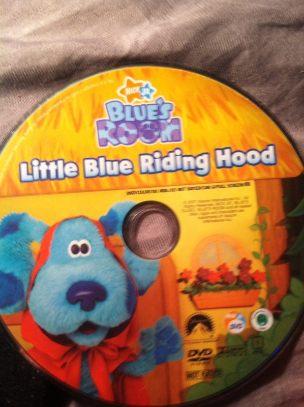 Free Nick Jr Blues Room Little Blue Riding Hood Dvd Dvd