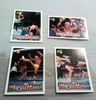 WRESTLEMANIA Collector Cards!