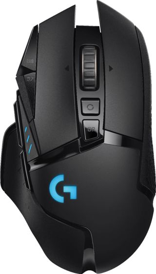Logitech - G502 Lightspeed Wireless Optical Gaming Mouse with RGB Lighting - Black