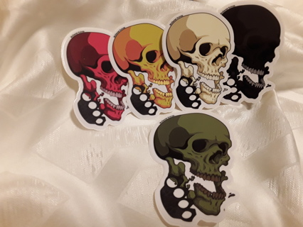 Lot of 5 McDaniel Knives stickers. Winner gets all 5