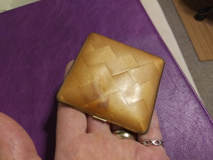 Very old mirror compact