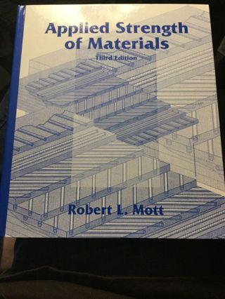 Applied Strength of Materials, Robert L. Mott, (Hardcover)