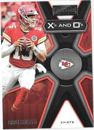 2019 Panini Playbook X's and O's - Patrick Mahomes II