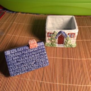 Cute ceramic cottage