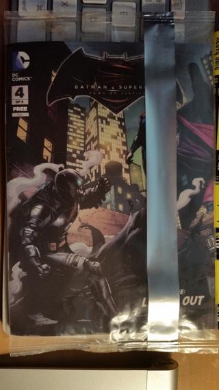UNOPENED BATMAN  VS  SUPERMAN COMIC