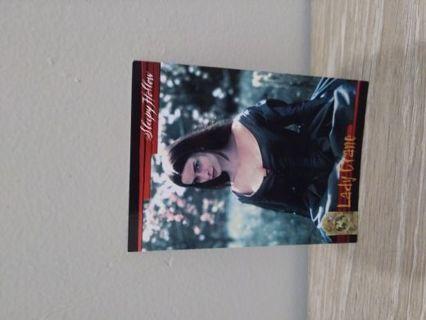 Sleepy Hollow movie card Lady Crane