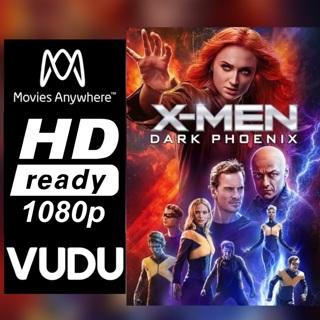 X-MEN DARK PHOENIX HD MOVIES ANYWHERE OR VUDU CODE ONLY