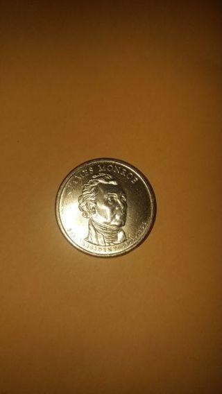 James Monroe 2008 P One Dollar Coin