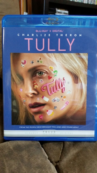 TULLY Blu-ray Starring Charlize Theron - US Seller