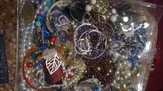 Lot of Jewelry for Crafting Purposes