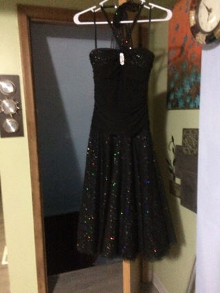TABOO Ladies Black Size 3/4 Specialty dress