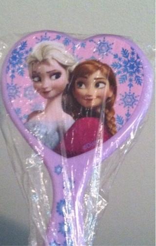 Frozen hairbrush