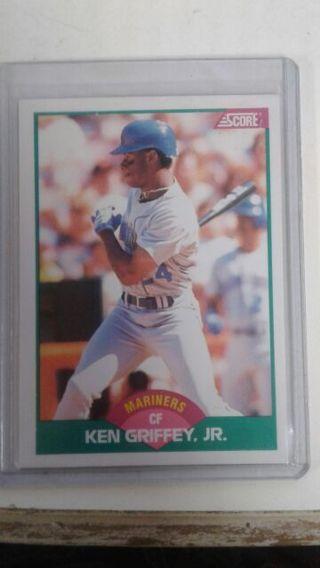 Free 1989 Score Ken Griffey Jr Rookie Card Sports