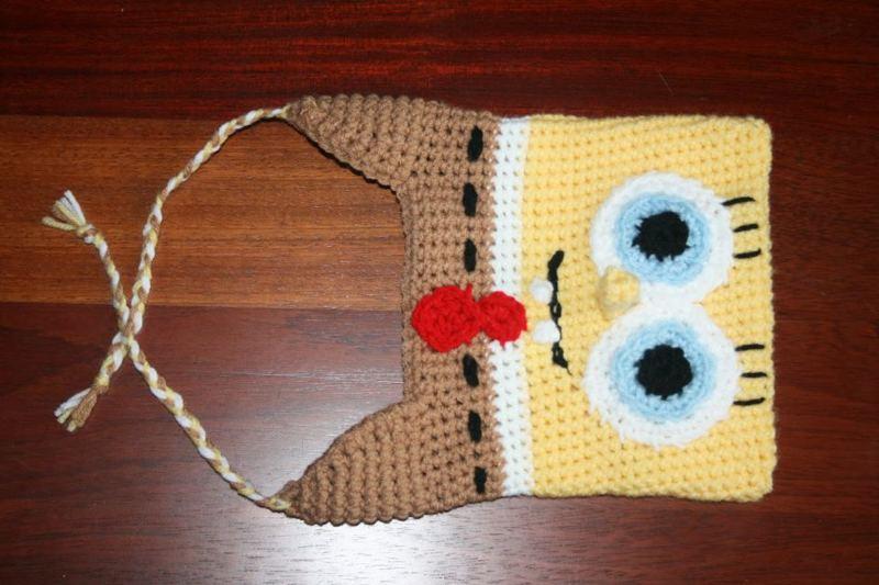 Free Crochet Pattern Spongebob Hat : Free: Sponge Bob Crochet Hat - Boys Clothing - Listia.com ...