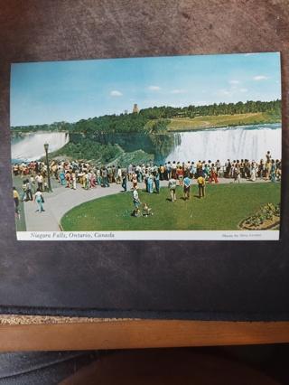 Niagara Falls, Ontario Postcard