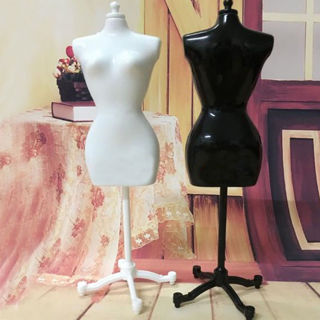 2PCs Fashion Doll Display Holder Dress Clothes Mannequin Model Stand