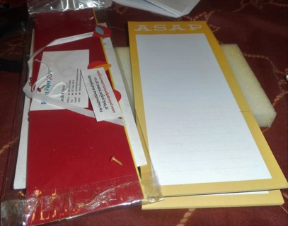 Scrap Booking Items and Pads
