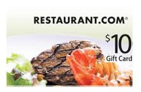 Free: $10 RESTAURANT.COM® E-GIFT CARD - Gift Cards - Listia.com ...