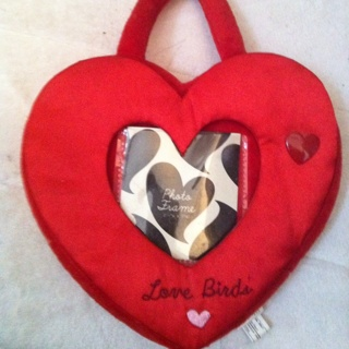 Cute Heart Shaped Picture Photo Frame