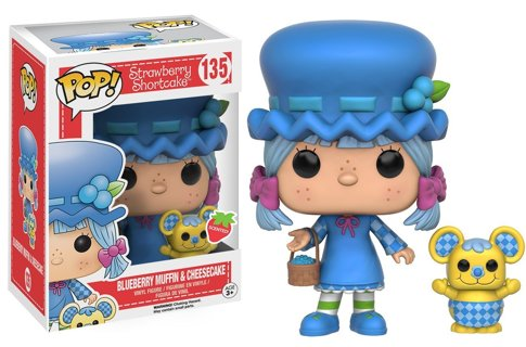 NEW Funko Pop Animation: Strawberry Shortcake - Blueberry Muffin & Cheesecake Action Figure