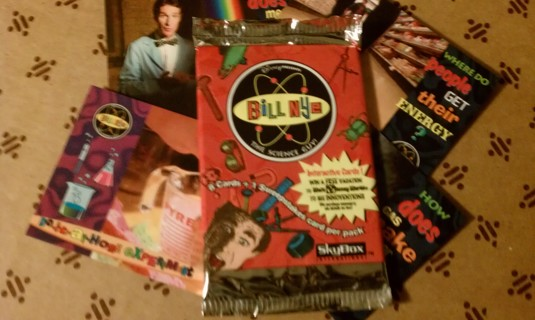 Unopened Bill Nye Trading card pack
