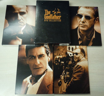 The Godfather DVD Collection (Very Good Condition, DVD, 2001, 5-Disc Set, Sensormatic)