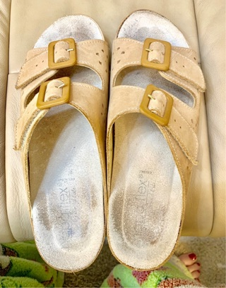 Made in Italy Super Comfy Napa Flex Leather Sandals