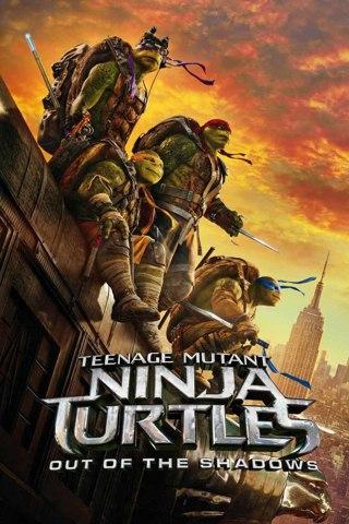 """""""Teenage Mutant Ninja Turtles Out of The Shadows"""" HDX-""""Vudu"""" Digital Movie Code"""