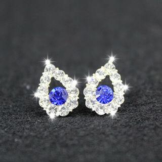 1 Pair Crystal Rhinestone Earrings