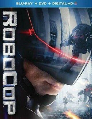 new!blu-ray/dvd combo-robocop-2014-gary oldman-action