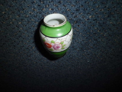 VINTAGE MADE IN OCCUPIED JAPAN GORGEOUS CABINET VASE XLNT COND FREE SHIPPING!