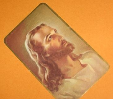 small 1930-40's Jesus picture