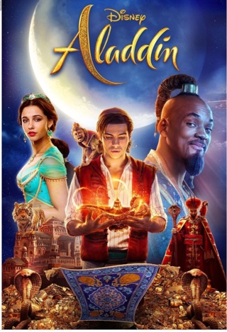 Aladdin digital code from Blu Ray