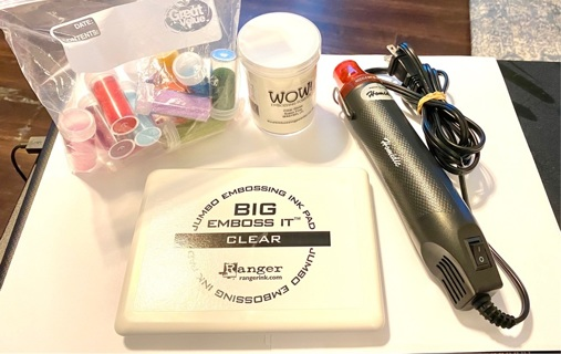 Pre owned Lightly Used Embossing Lot